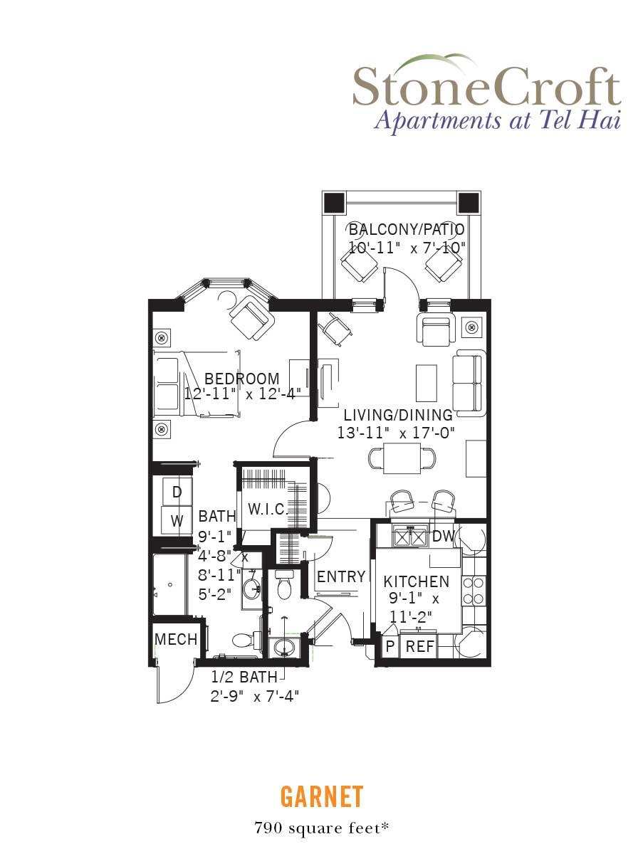 Garnet Apartments at Tel Hai