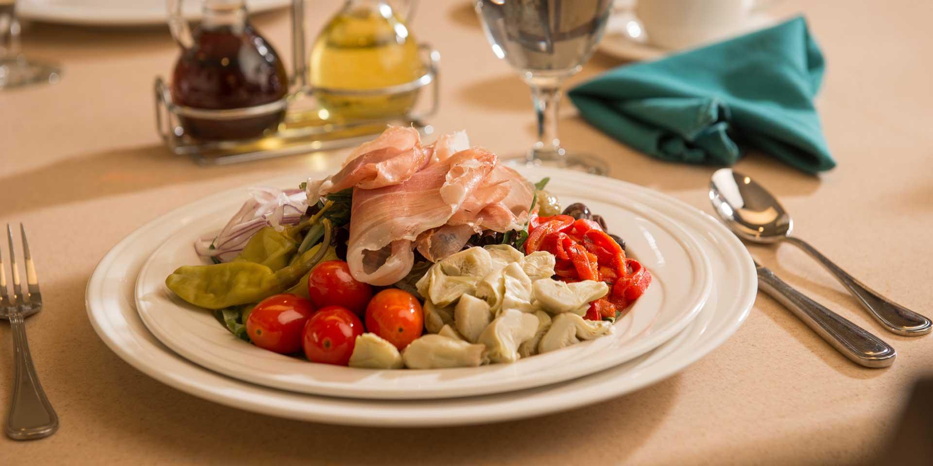 Dining at Tel Hai