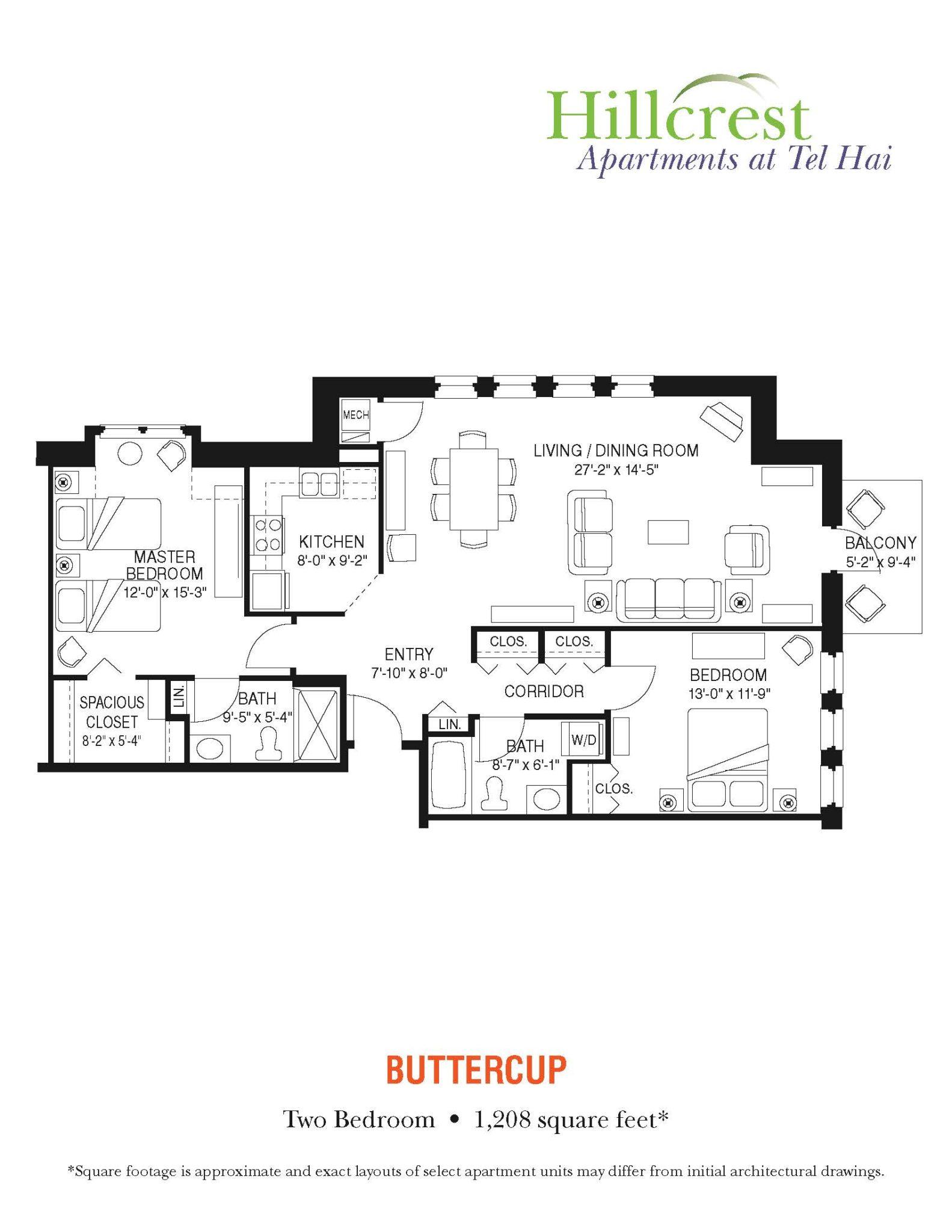 Buttercup Apartment at Tel Hai