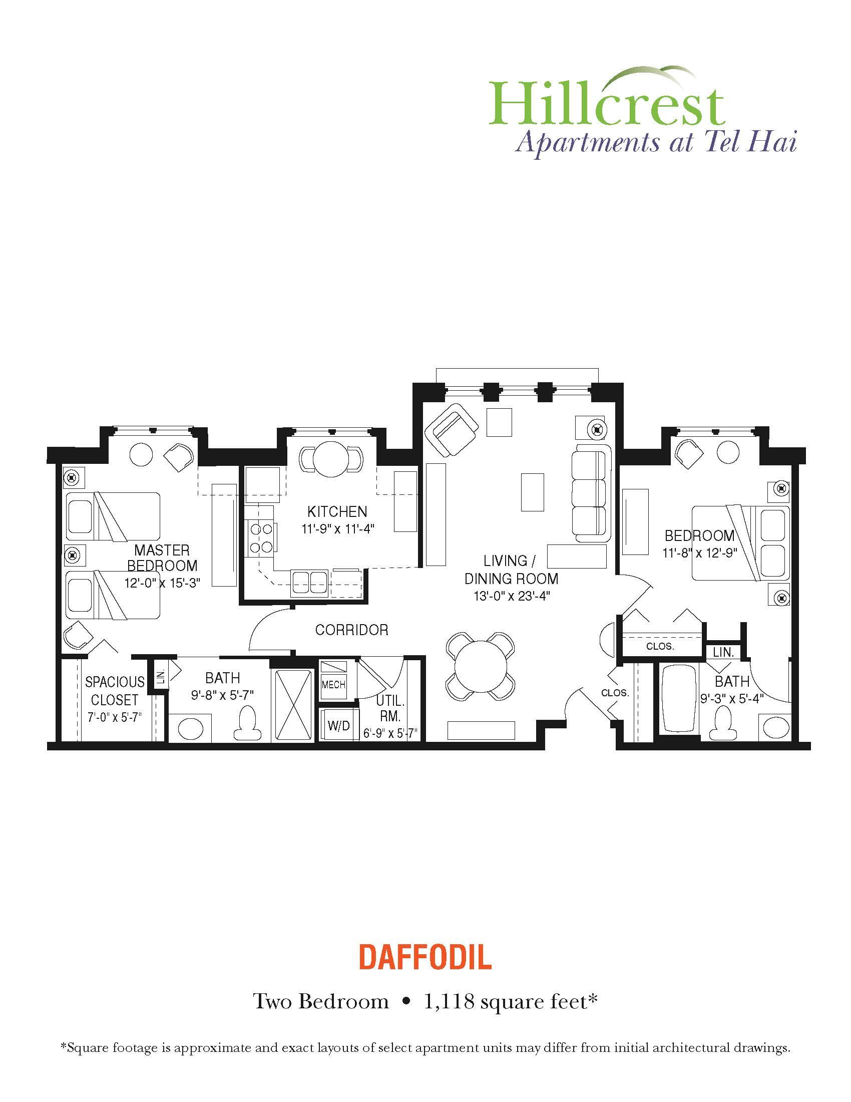 Daffodil Apartment at Tel Hai