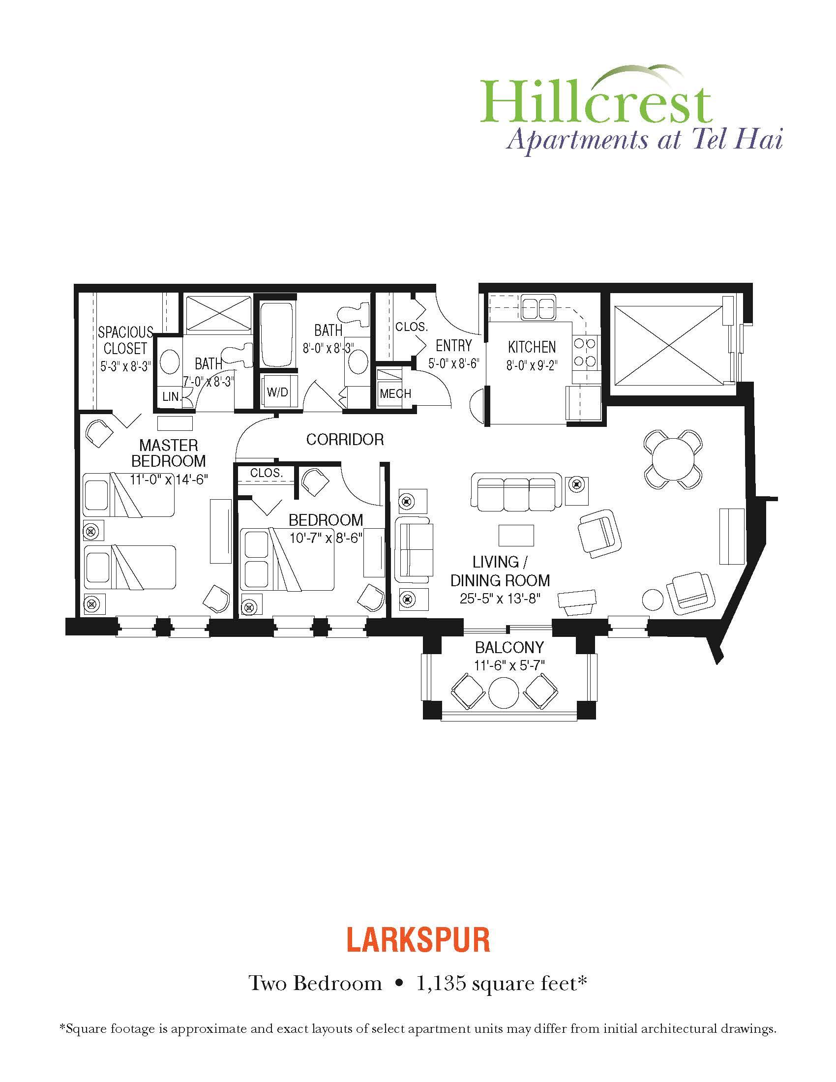 Larkspur Apartment at Tel Hai