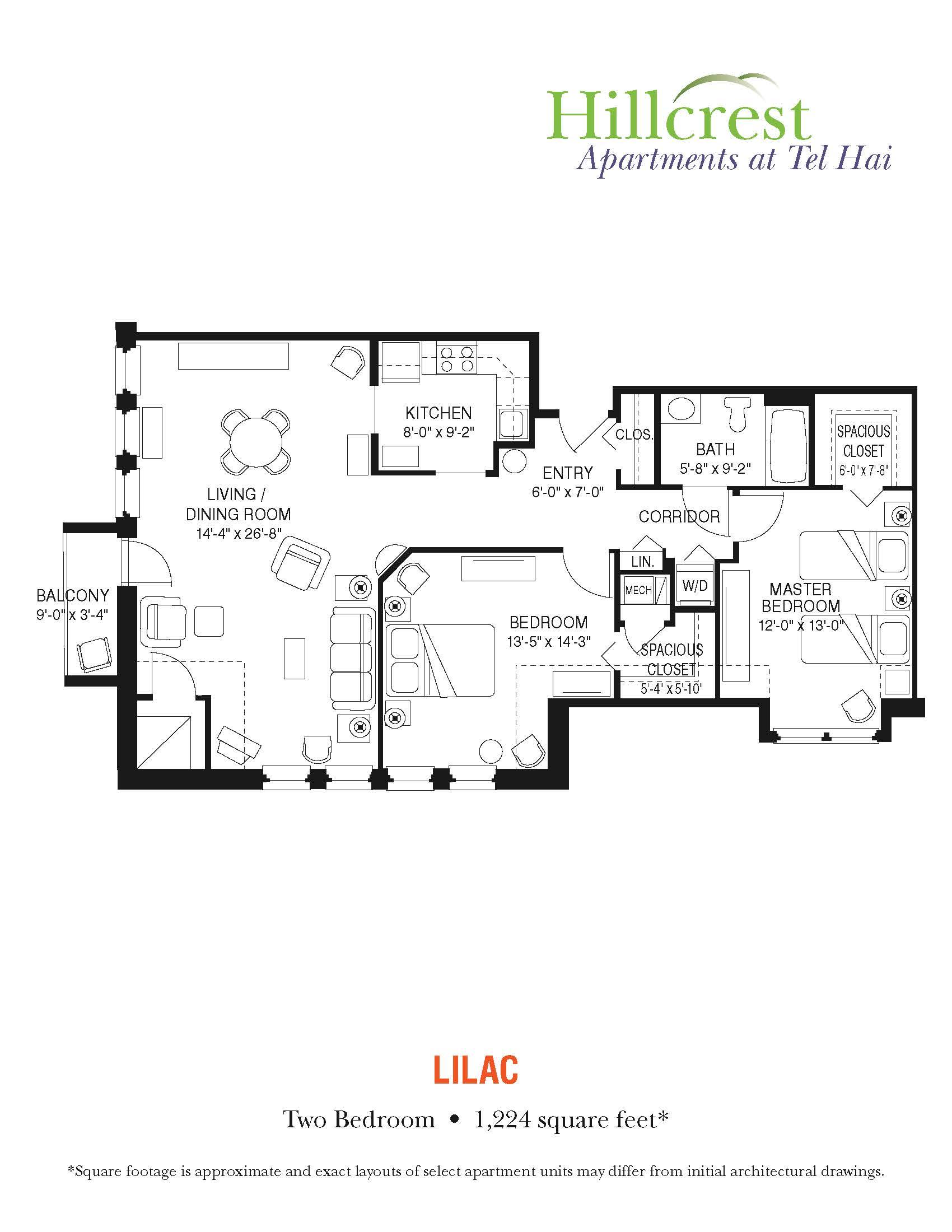 Lilac Apartment at Tel Hai