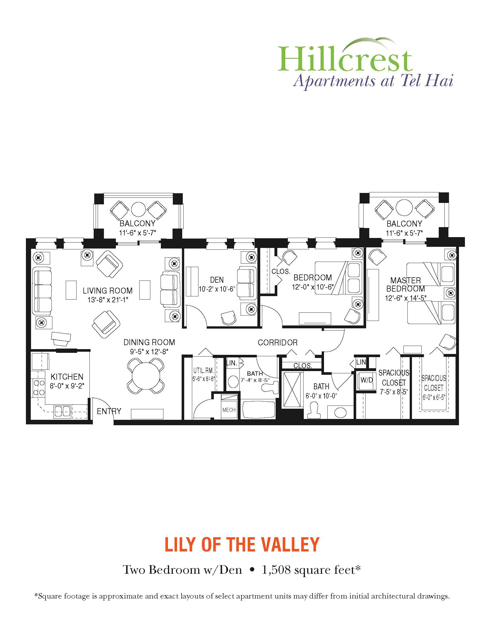 Lily of the Valley Apartment at Tel Hai