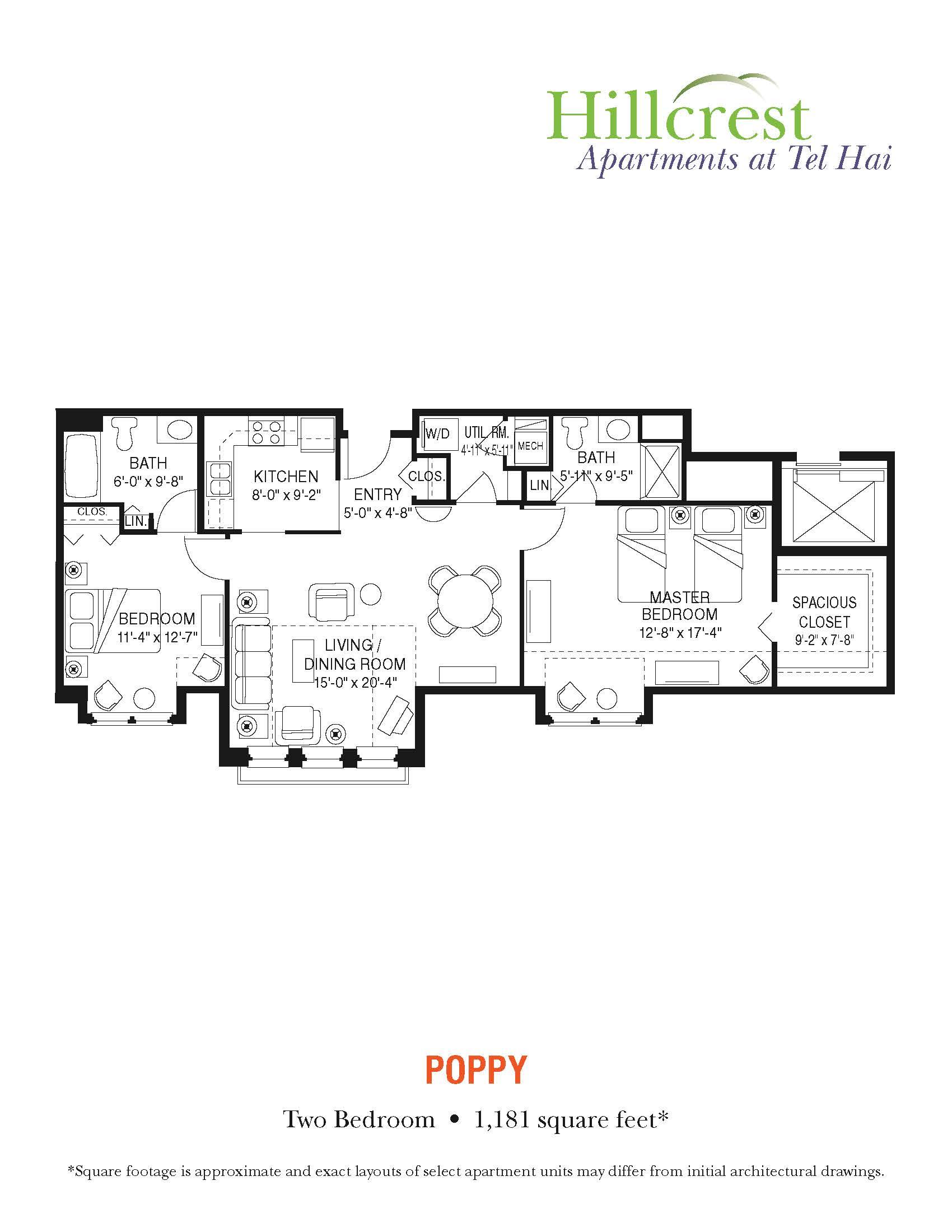 Poppy Apartment at Tel Hai